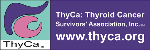 ThyCa: Thyroid Cancer Survivors' Association logo